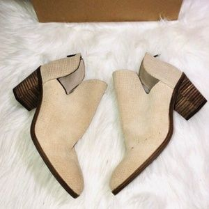 Lucky Brand Powe Suede Booties 6
